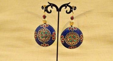 tibetan earrings